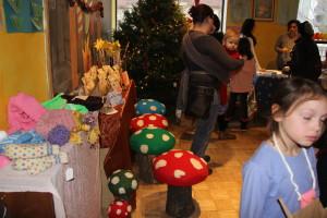 Sleighbell Market- Handmade mushroom stools